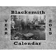 2019 Blacksmith Calendar of Vintage Images