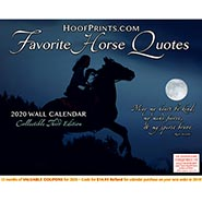 2020 Favorite Horse Quotes Calendar