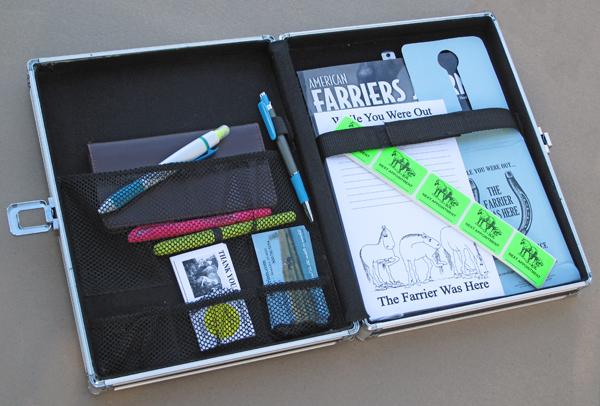 Farriers Traveling Desk