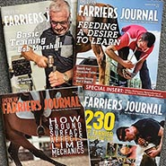 American Farriers Journal Magazine *CURRENT ISSUES*