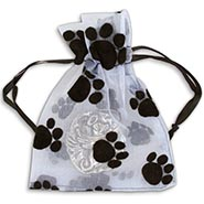 Small Pawprint Gift Bag