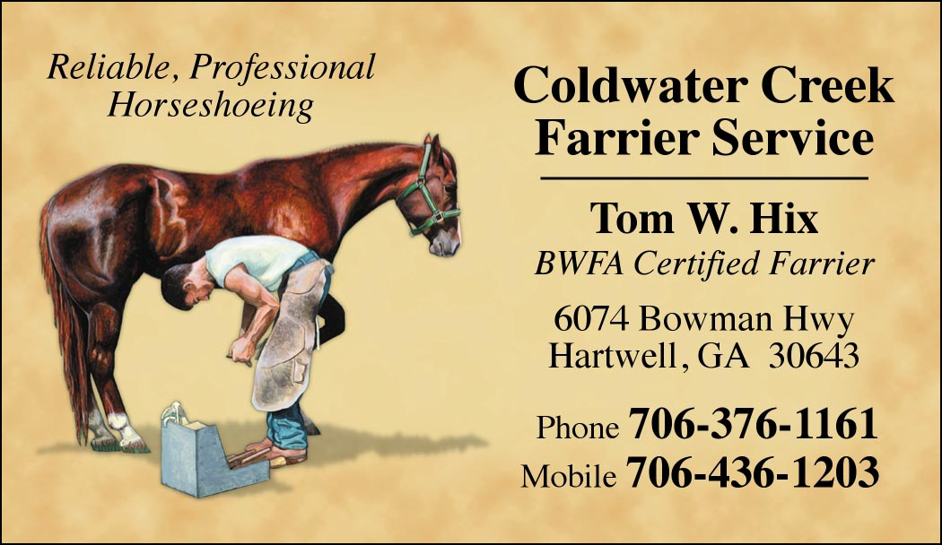 Custom business cards modern farrier design hoofprints custom business cards modern farrier design colourmoves