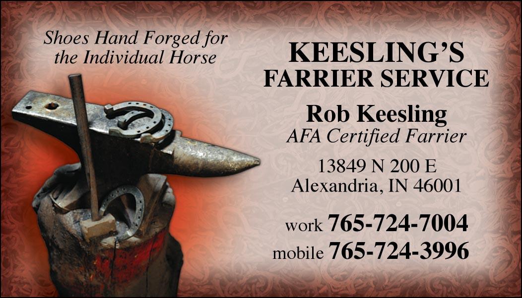 Custom Business Cards- Hammer & Anvil design-www.hoofprints.com