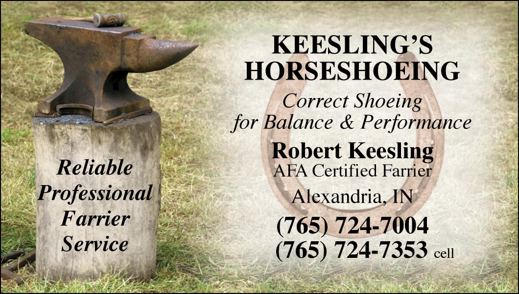 Custom Business Cards- Anvil Stump design-www.hoofprints.com
