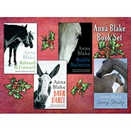 Set of 4 Anna Blake Books
