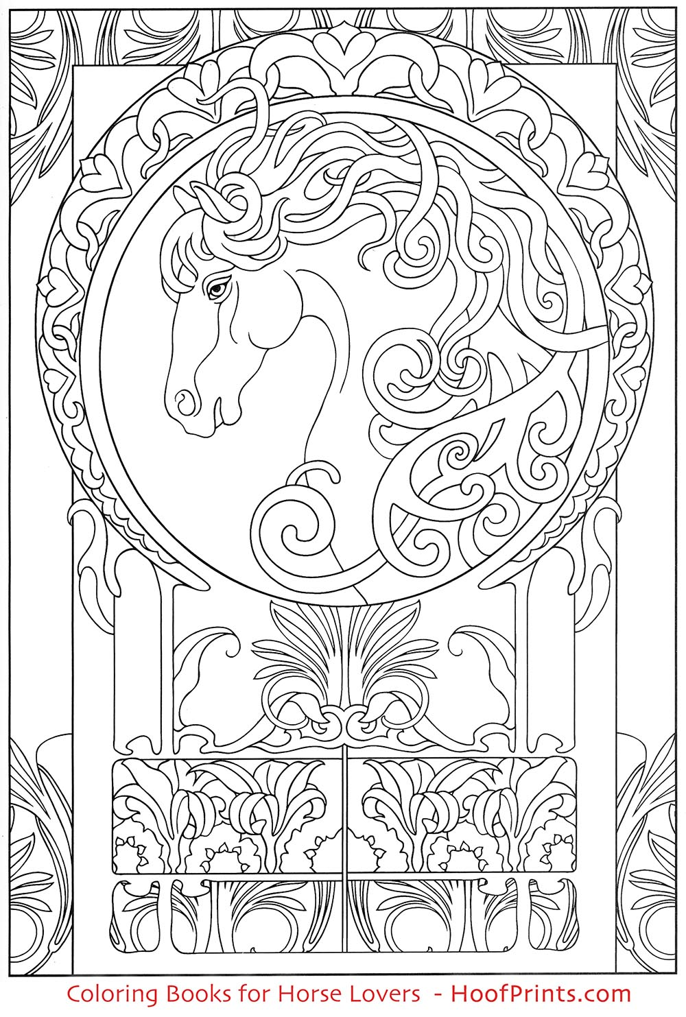 art nouveau coloring pages - photo#15