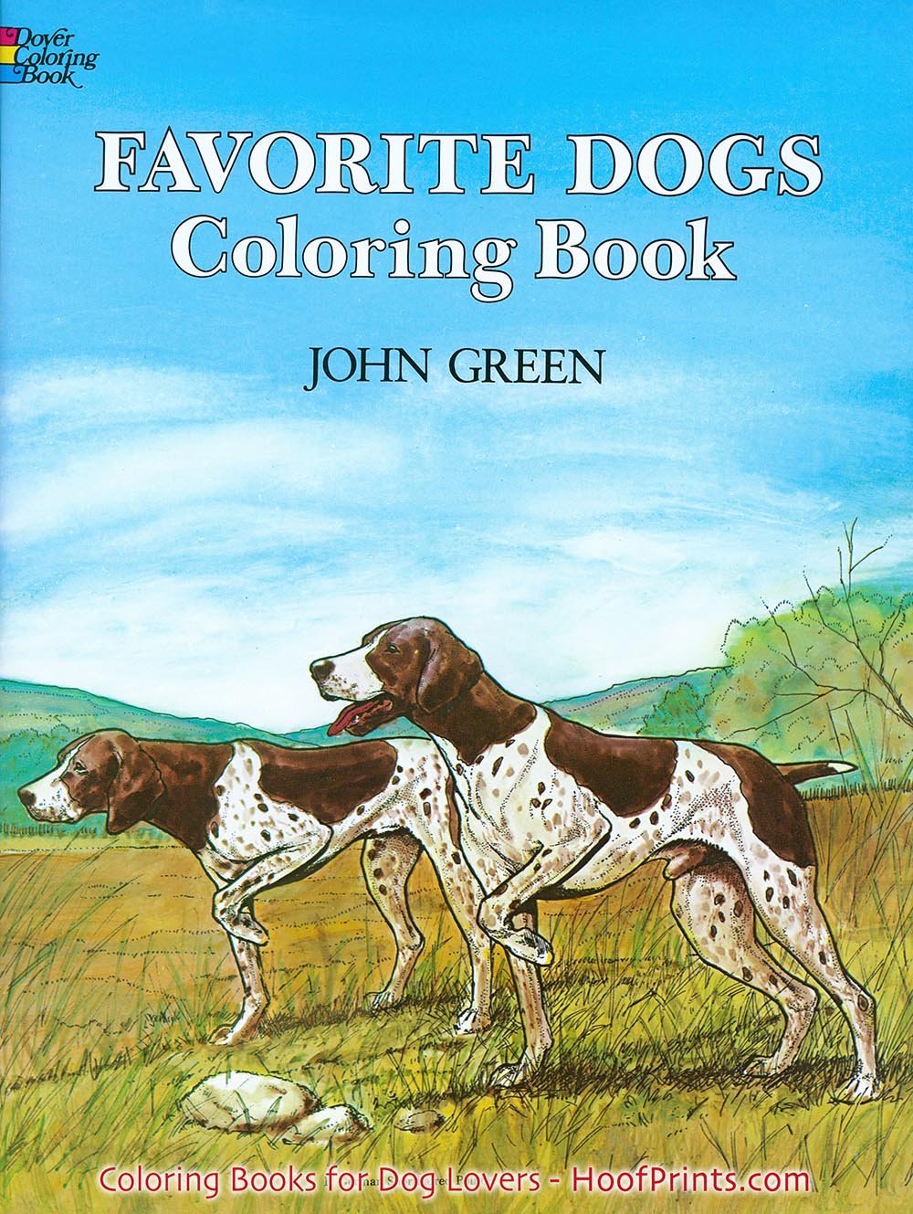 Favorite Dogs Coloring Book Loading Zoom