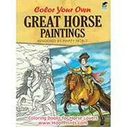 Color-Your-Own-Great-Horse-Paintings