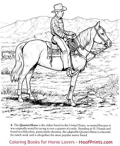 Horses of the World Coloring Book-www.hoofprints.com
