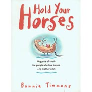 Hold Your Horses Cartoon book by Bonnie Timmons ONLY ONE AVAILABLE
