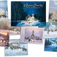 Western Churches Cards