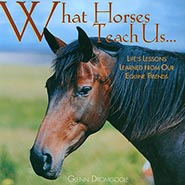 What Horses Teach Us Hard Cover Gift Book