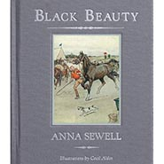 Black Beauty - unabridged hardcover reprint with illustrations by Cecil Aldin