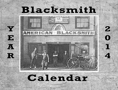 Blacksmith Calendar of Vintage Images - BACK ISSUES $1.99 each