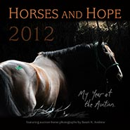 Horses & Hope 2012 Calendar - My Year at the Auction