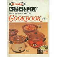 Vintage Rival Crock Pot Cookbook ONLY ONE AVAILABLE