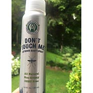 DON'T TOUCH ME Outdoor Body Spray Repels Bugs