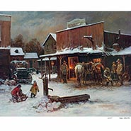 December Day signed and numbered Limited Edition Print by Lajos Markos