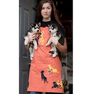 NEW! DOGS Heavy Cotton Twill Apron