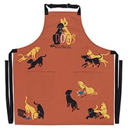 NEW! DOGS Apron