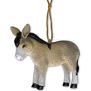 Donkey Ornament with Jesus Story Card