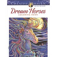 Dream Horses Coloring Book by Creative Haven