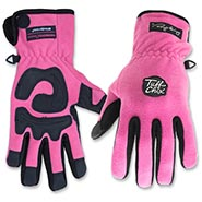 Tuff-Chix-Pink-Fleece-Winter-Gloves