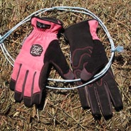 Tuff Chix Pink Summer Chore Gloves
