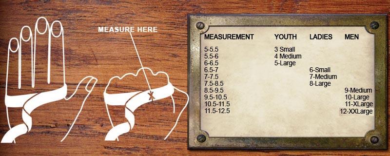 Heritage Size Chart