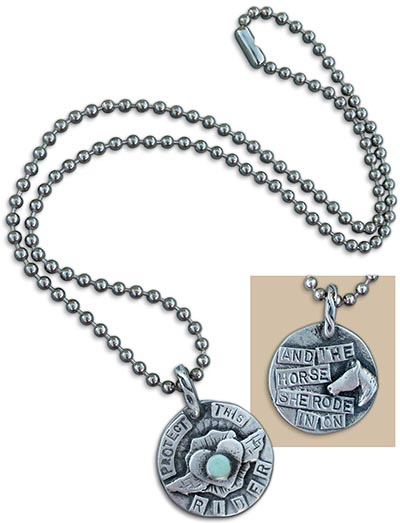 Sweet Bird Studio Protect This Horse Equestrian Tag