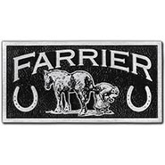 Farriers License Plate ALUMINUM