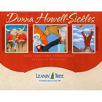 The Art of Donna Howell-Sickles Greeting Card Assortment