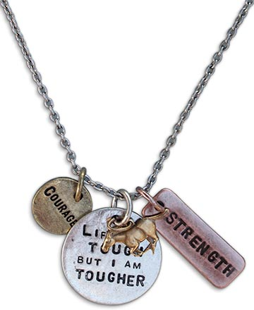 Life Is Tough Necklace