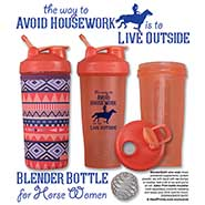 Blender Bottle and Insulator SET The way to Avoid Housework is to LIVE OUTSIDE Blender Bottle Shaker Cup & Insulator