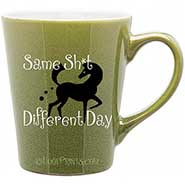 Same Sh*t, Different Day Green Mug *90% OFF* limit ONE per order