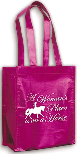 A Woman's Place Pink Gift Bag
