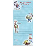 Horsewoman's Long Tall List Note Pad