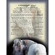 Horsewoman's Prayer Blank Greeting Cards