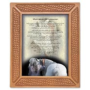 When I am Old... Framed Verse for Horsewomen
