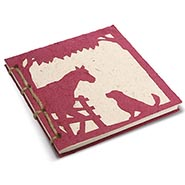 Horse Poo Paper Hardcover Journal