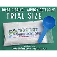 TRIAL SIZE Rockin' Green Activewear Horse People's Laundry Detergent