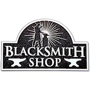 Blacksmith Shop Sign