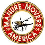 Manure Movers Aluminum Sign
