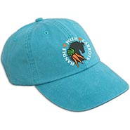 Caribbean Blue Cap HANDLE with CARROTS