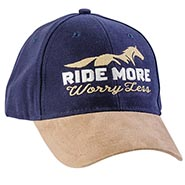 Ride More, Worry Less - Stonewashed Cap