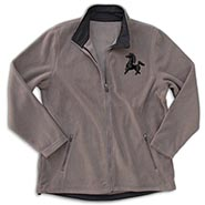 Corduroy Fleece Jacket w/Bucephalus Embroidery  **SALE $10 OFF**