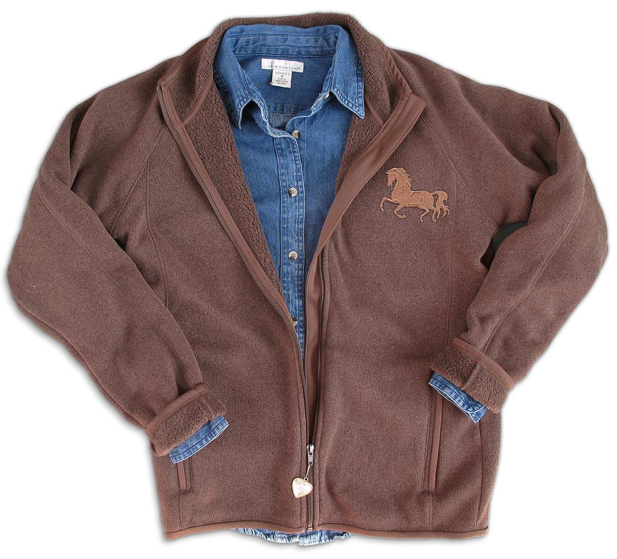 Beautiful embroidered horse jacket makaroka