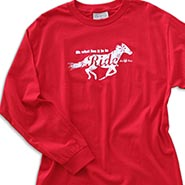 Oh What Fun it is to RIDE Red Longsleeve T-shirt