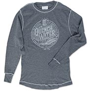 Farriers QuenchWater Coffee Brand Longsleeve Thermal T