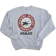 Manure Movers of America Ash Sweatshirt